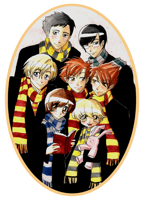 Art-tastic Monday – Ouran High School Host Club: Hogwarts