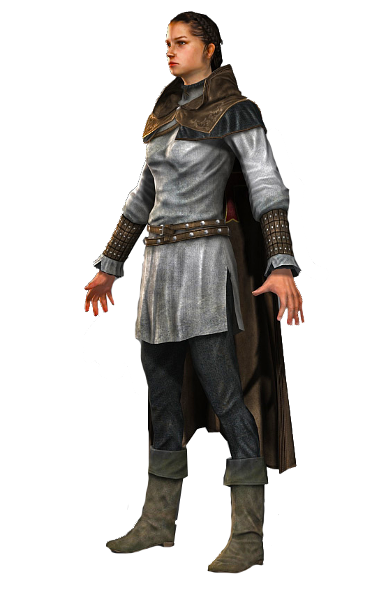 O hai, Maria Thorpe-not-disguised-as Robert de Sable!