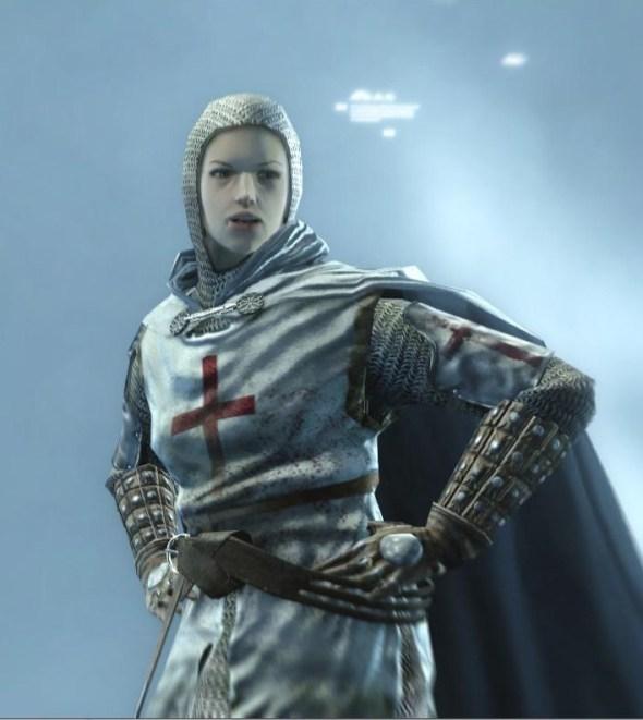 O hai, Maria Thorpe-disguised-as-Robert de Sable!