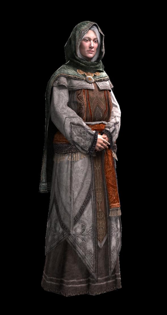 O hai, elderly Assassin Maria Thorpe!
