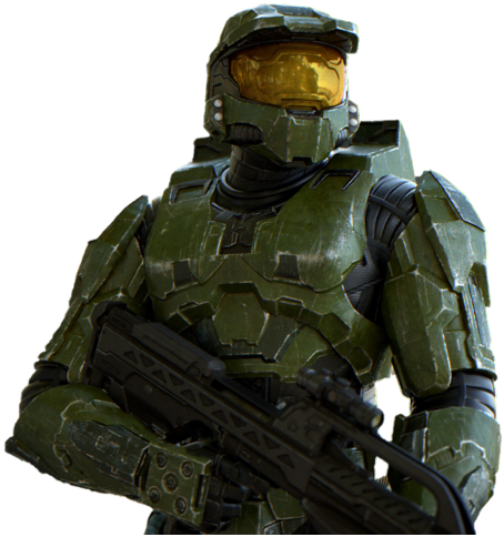 Pictured: The Halo series' cover model