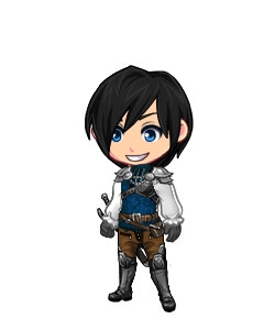 O hai, Auren! (Normally his sword is on his back, but because recolor.me doesn't have anything like that yet, he has it about his waist for this one instance.)