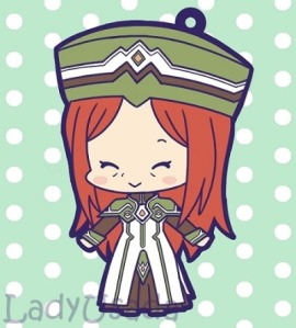 Of course, if you're desperate for a full body image of her, this chibi should suffice.