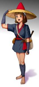 Kaya's full outfit.