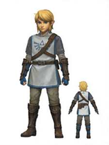 And here's Link's trainee uniform, if anybody's curious. I think it looks really cool, myself.