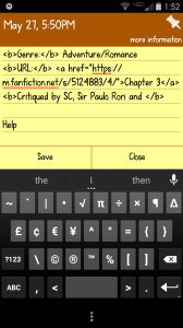 Even my phone hates this fic!