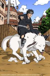Ladies and gentlemen: Kiba and his dog Akamaru.