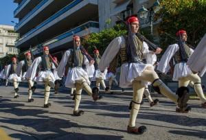 Greek-Guard-Marching
