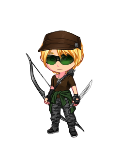 O hai, Aviators! (As always, recolor.me didn't have his actual glasses, so I went with the next best thing.)