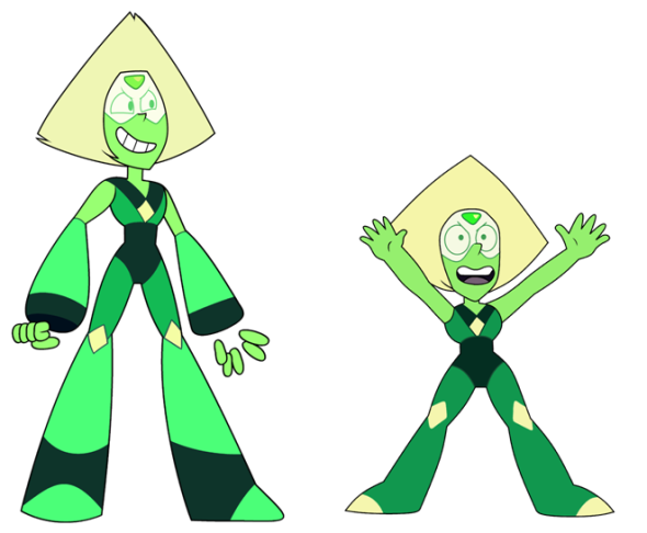 Peridot as an antagonist and as a… well-meaning protagonist.