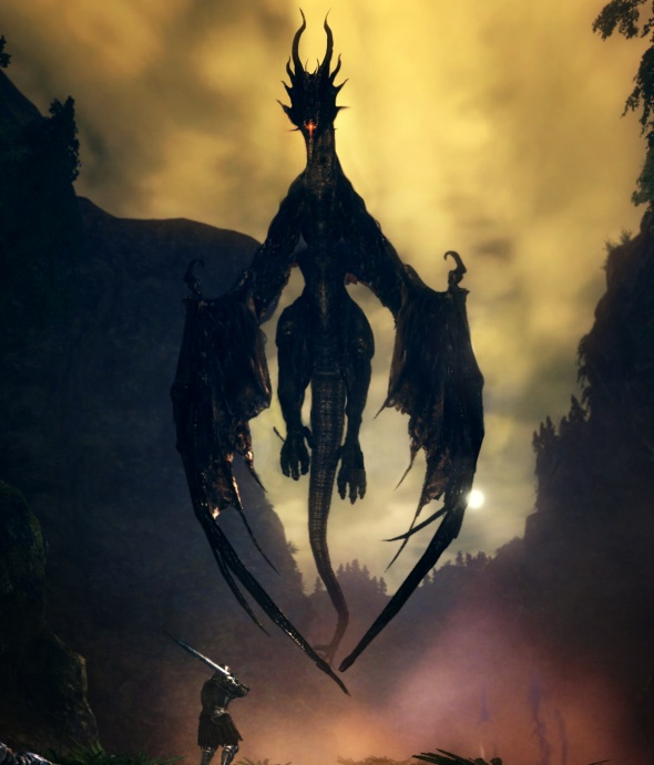 The black-magic breathing telekinetic dragon cyclopes not even Anor Londo dared challenge