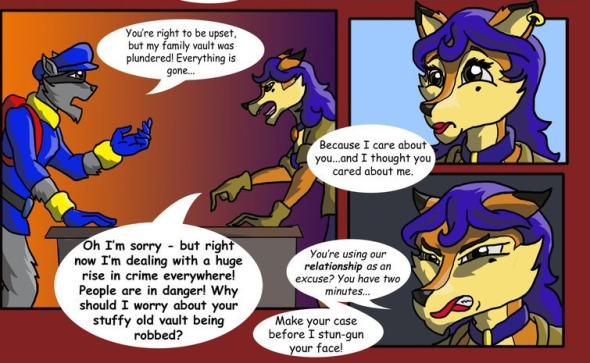 2069: Sly Cooper: Thief Of Virtue — Pages 1 through 8